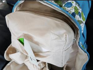 how do you pack the diaper bag