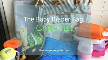 The Baby Diaper Bag Checklist – Packing For A Young Baby