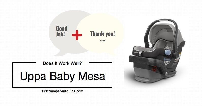 The Uppa Baby Mesa Seat
