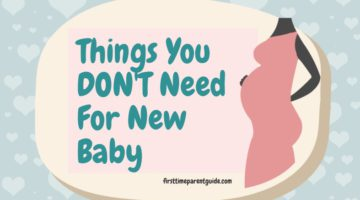 What Are The Things You Will Need For New Baby