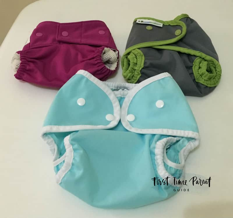 all two cloth diapers