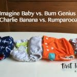 The Top Rated Pocket Diapers – Imagine Baby vs. Bum Genius vs. Charlie Banana vs. Rumparooz