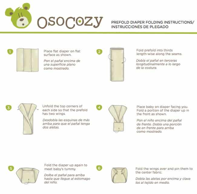 the osocozy prefolds
