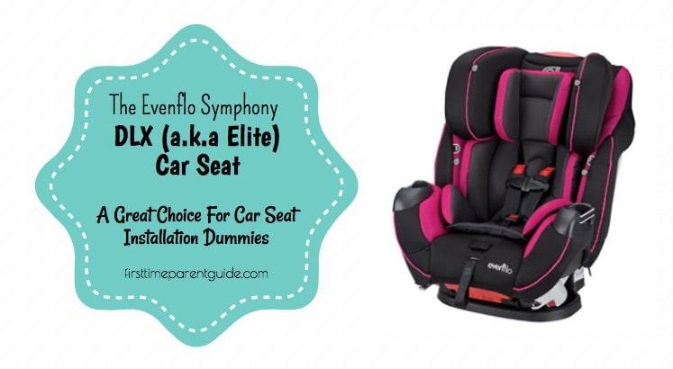 The Evenflo Symphony Dlx Car Seat