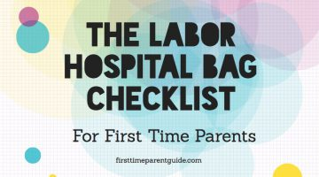 The Labor Hospital Bag Checklist For First Time Parents