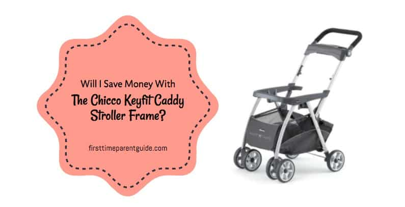 The Chicco Keyfit Caddy Stroller Frame