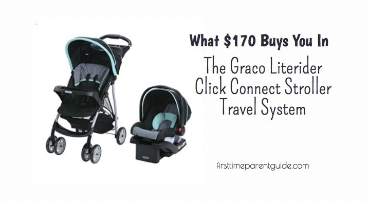 The Graco Literider Click Connect Stroller Travel System