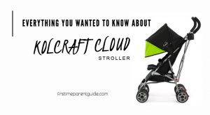 The Kolcraft Cloud Stroller