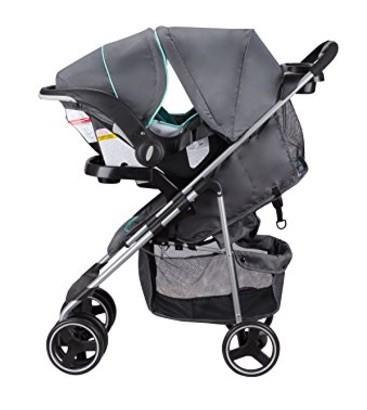 the evenflo stroller travel system