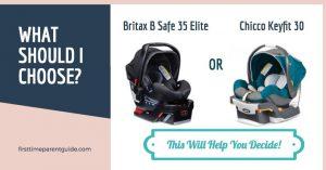 The Britax B Safe 35 Elite Vs Chicco Keyfit 30