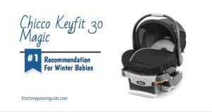 The Chicco Keyfit 30 Magic Car Seat