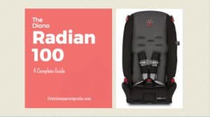 The Diono Radian R100 Convertible Car Seat