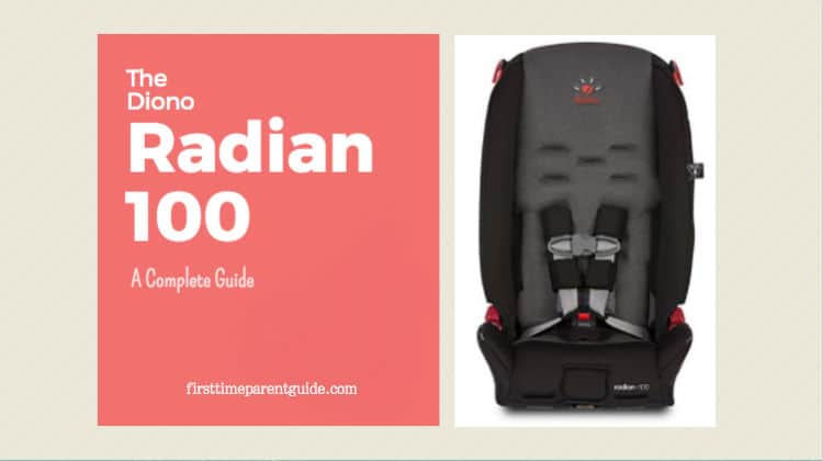 The Diono Radian R100 Convertible Car Seat Booster