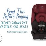 The Diono Radian RXT Convertible Car Seats