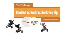 The Peg Perego Stroller Travel System