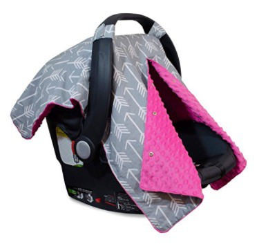 Infant Car Seat Canopy Cover