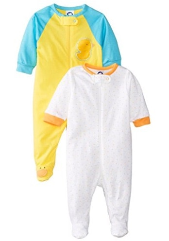 the infant footed pajamas