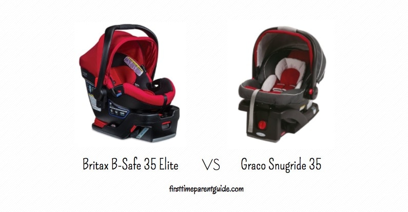 The Britax B Safe Vs Graco Snugride 35