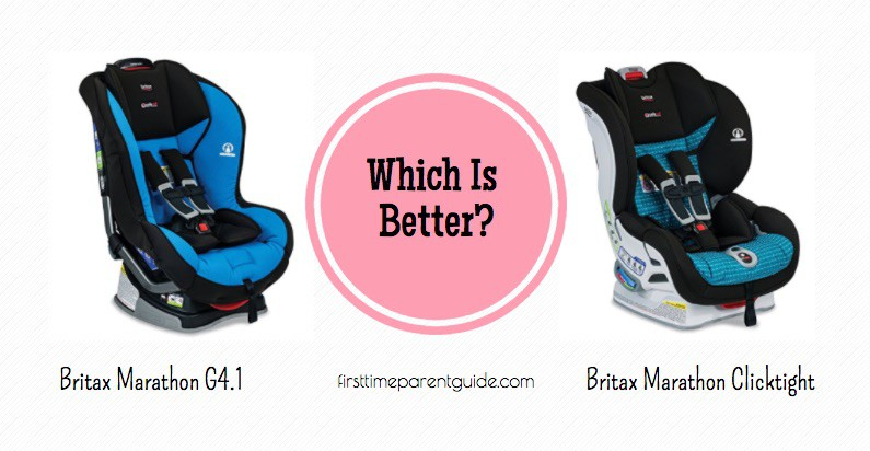 The Britax Marathon Vs Marathon Clicktight