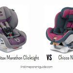 The Britax Marathon Vs Chicco Nextfit