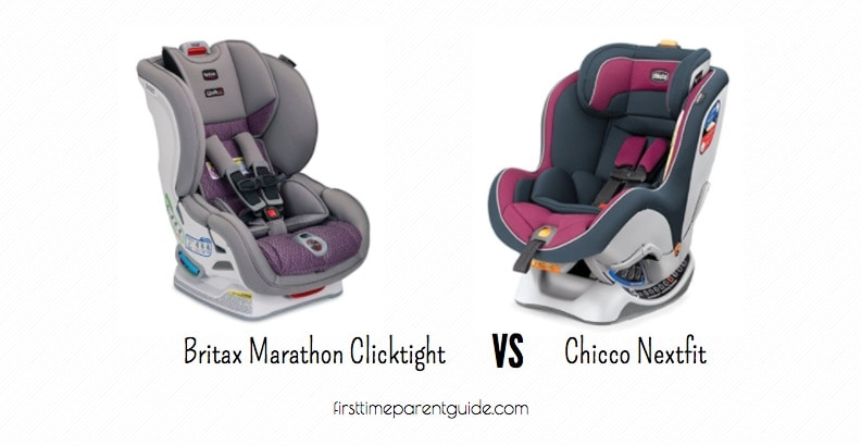 the britax marathon vs chicco nextfit