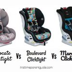The Britax Advocate Clicktight Vs Boulevard Clicktight Vs Marathon Clicktight