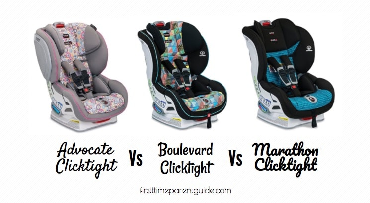 The Britax Advocate Click Vs Boulevard