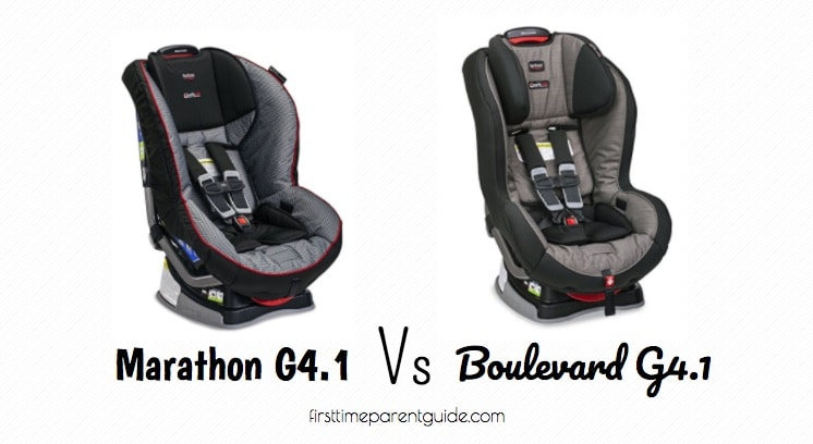 The Britax Marathon Vs Boulevard