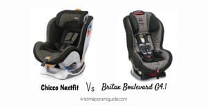 The Chicco Nextfit Vs Britax Boulevard