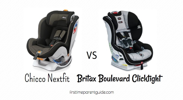 The Chicco Nextfit Vs Britax Boulevard Clicktight