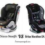 The Chicco Nextfit Vs Britax Marathon G4.1