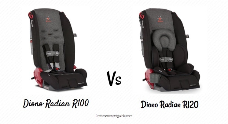 The Diono Radian R100 Vs R120