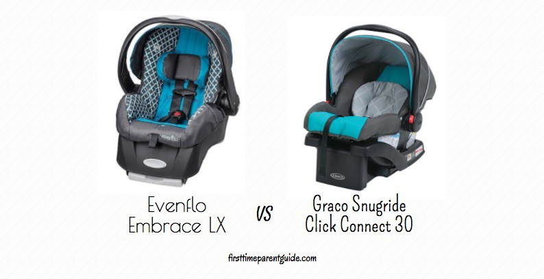 Evenflo Car Seat With Graco Base