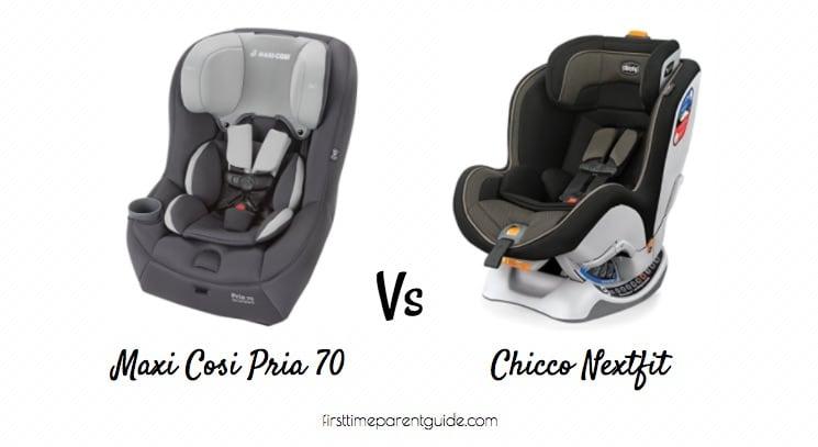 The Maxi Cosi Pria 70 Vs Chicco Nextfit