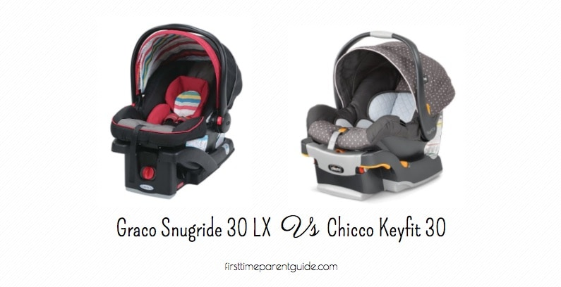 the graco snugride click connect 30 lx or chicco keyfit 30 rh firsttimeparentguide com Chicco KeyFit Graphica Chicco KeyFit 30 Stroller