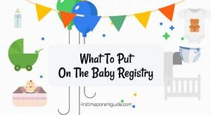 what to put on the baby registry