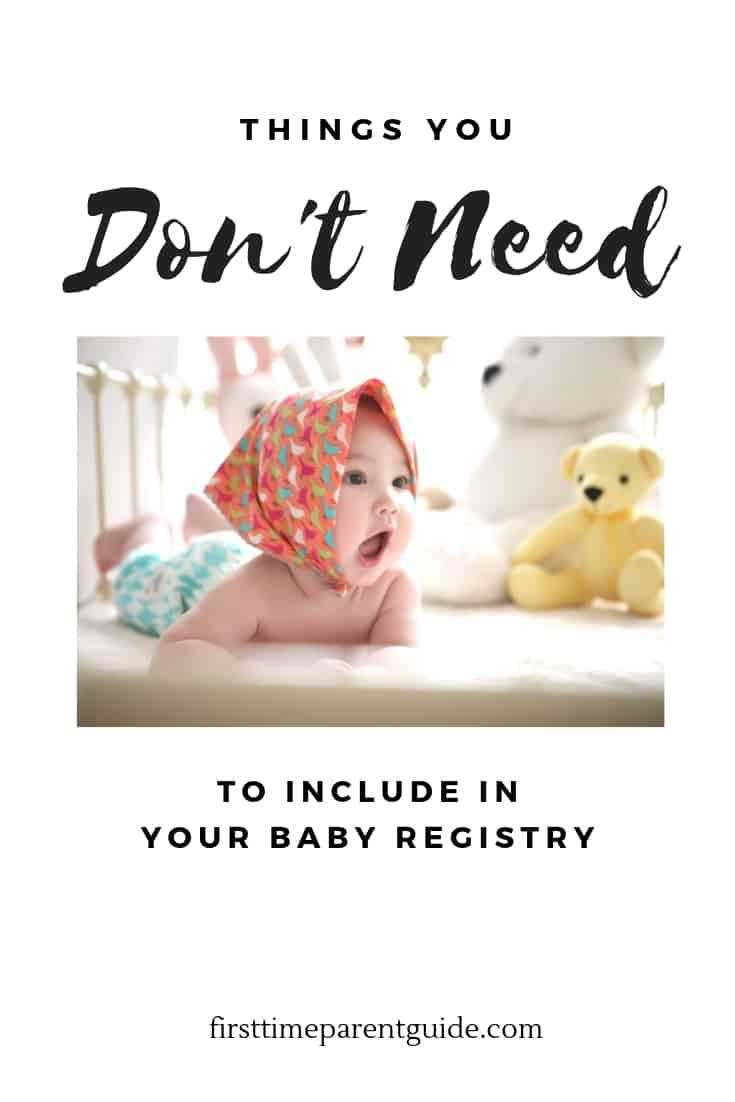 Baby Needs List