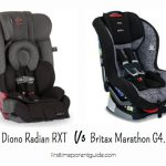 The Diono Radian RXT Vs Britax Marathon G4.1 – Why RXT Is Better