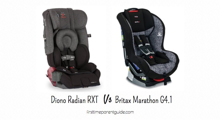 The Diono Radian Rxt Vs Britax Marathon