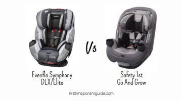 The Evenflo Symphony DLX Or Safety 1st Go And Grow Car Seat?