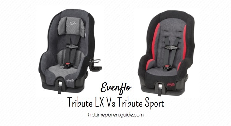 The Evenflo Tribute Lx Vs Sport