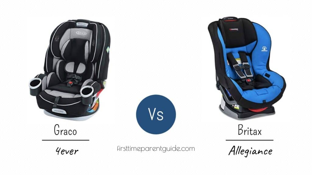 The Graco 4ever Or The Britax Allegiance