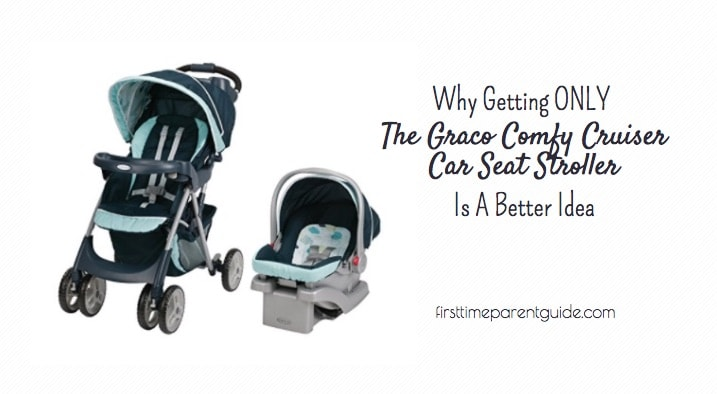 The Graco Comfy Cruiser Car Seat Stroller