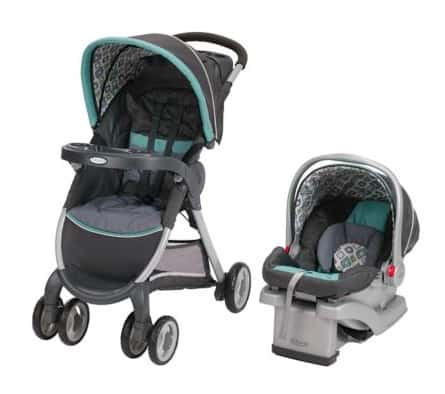 The Graco Fastaction Fold Click Connect Travel System