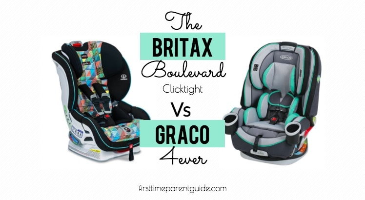 The Britax Boulevard Clicktight Vs Graco 4ever