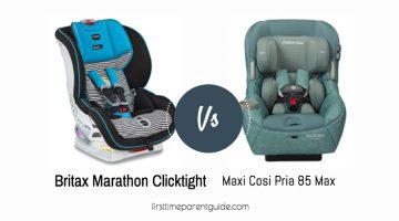 The Britax Marathon Clicktight Or Maxi Cosi Pria 85 Max?