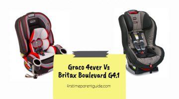 The Graco 4ever Vs Britax Boulevard G4.1