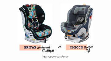 The Britax Boulevard Clicktight Vs The Chicco Nextfit Zip