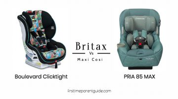 The Britax Boulevard Clicktight And The Maxi Cosi Pria 85 Max