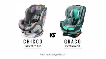 The Differences Between The Chicco Nextfit Zip And The Graco Extend2fit